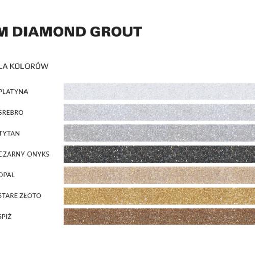 WIM DIAMOND GROUT - TABELA KOLORÓW